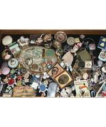 Vintage 14k Gold Diamonds Band Ring Raised Cent... - $197.01