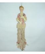 Tassel Doll Vintage Victorian Lady - $12.00