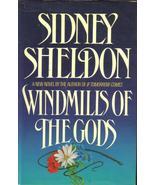 Windmills of the Gods Sidney Sheldon  HCDJ Firs... - $5.99
