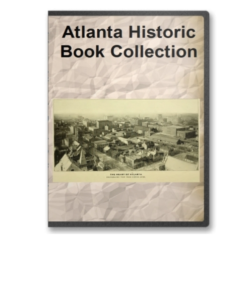 Atlanta, GA - Its People, History and Culture Book Collection on CD ROM