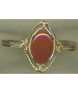 Carnelian Gold Wire Wrap Bracelet 1 - $59.99