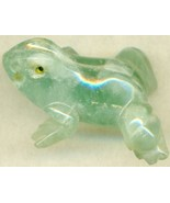 Green Fluorite Frog Carving - $12.97