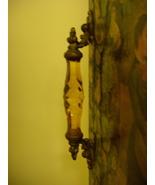 Antique Decoupage Victorian 4 Fold Double Side ... - $650.00