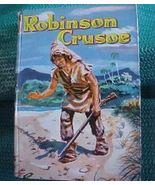 Vintage HC Children Book Robinson Crusoe 1955 N... - $8.00