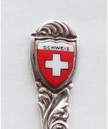 Collector Souvenir Spoon Switzerland Schweiz Sw... - $17.99