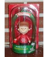 Peanuts Charlie Brown NIP Holiday Clip On Bobbl... - $11.99