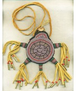 Beaded Amulet Fetish Bag Turtle Bear Totem - $175.00