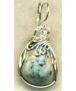 Australian Opal Silver Wire Wrap Pendant 57 - $54.98