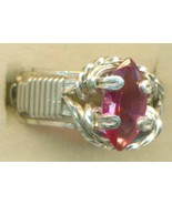 Faceted Alexandrite Silver Wire Wrap Ring sz 7 - $60.99