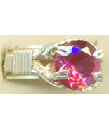 Faceted Alexandrite Silver Wire Wrap Ring sz 8 - $60.99