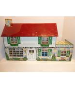 Vintage 1950s Marx Tin Litho 2 Story Doll House... - $127.35