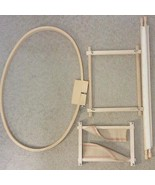Quilting Needlepoint Embroidery Hoop Frames Lot - $49.99