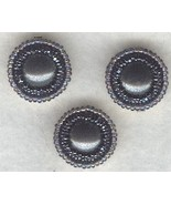 Hematite Beaded Button Covers 3 - $19.90