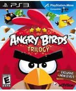 Angry Birds Trilogy, PS3 game - $35.50