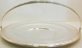 SL25 - Silverplate handled serving tray - $7.95