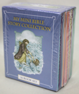 Mini Bible Story Collection Books for Kids Tiny... - $8.95