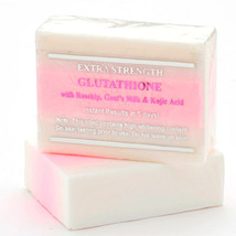12 Bars of Premium Extra Strength Whitening Soap w/ Glutathione & Goat's milk - $103.80