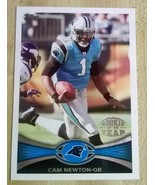 2012 TOPPS ROOKIE OF THE YEAR CAM NEWTON..#141.... - $1.25