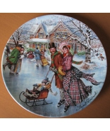 Skating on the Pond - Victorian Christmas Colle... - $14.95