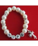 Personalized Baptism Christian Bracelet Cross B... - $14.03
