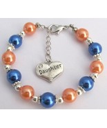 Daughter Charm Bracelet Special Daughter Gift O... - $13.38