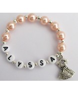 Children Ballet Bracelet Personalized with Ball... - $10.78