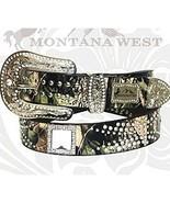 Montana West Camo Western Square Crystal Rhines... - $42.13
