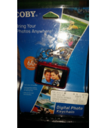Coby Digital Photo Keychain, Holds up to 60 Pho... - $11.00