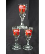 3 GERMAN Schierker Feuerstein Stemmed Shot Glas... - $9.00