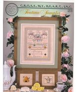Teatime Sampler Cross Stitch Patterns Stitchery... - $5.50