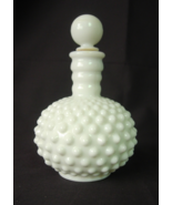 Fenton Hobnail Milk Glass Perfume Bottle with S... - $14.00