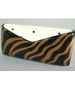 Tiger Animal Print Ceramic Business Card Holder... - $20.00