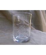 Cut Glass Tumbler - Interesting design  - $14.99