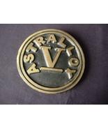 Astralloy V Brass Belt Buckle - DynaBuckle Prov... - $18.00