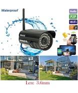 Wireless CMOS 0.3MP Outdoor Waterproof IP P2P C... - $45.99