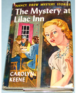 Nancy Drew #4 Mystery Lilac Inn Orig Text DJ - $6.99
