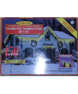 Celebrations Cascading Icicle 150 Clear Outdoor... - $14.95