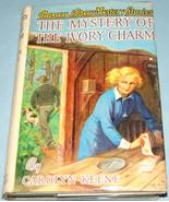 Nancy Drew #13 Mystery Ivory Charm Orig Text DJ - $9.99