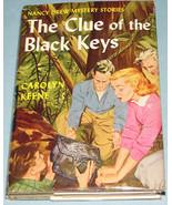 Nancy Drew #28 Clue of Black Keys Orig Text DJ - $9.99