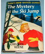 Nancy Drew #29 Mystery at Ski Jump Orig Text DJ - $7.99