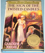 Nancy Drew #9 Sign of the Twisted Candles Apple... - $19.99