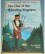Nancy Drew #41 Clue Whistling Bagpipes 1964 PC - $7.99