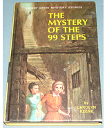 Nancy Drew #43 Mystery of the 99 Steps 1966 PC - $7.99
