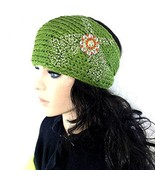 Knit Winter Headband Head Wrap w/ Western Pisto... - $17.14