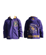 OMEGA PSI PHI FRATERNITY WINDBREAKER JACKET COA... - $94.99