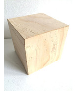 3.50'' x 3.50'' Square Block, Unfinished Wood - $7.99