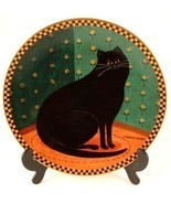 c1995 Lenox Lucky Cat plate by Warren Kimble CP730 - $97.02