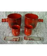 2 Traum Feuer / Dream Fire FEUERZANGENBOWLE Cup... - $20.00