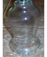 Votive Cup Clear Glass Wheat Design - $0.99