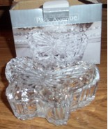 Crystal Butterfly Box Park Avenue Clear - $0.99